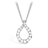 Hearts On Fire Lorelei Crescent Diamond Pendant Necklace