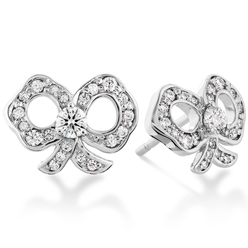 Hearts On Fire Lorelei Diamond Bow Stud Earrings
