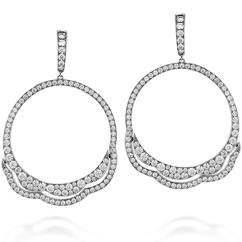 Hearts On Fire Lorelei Diamond Circle Earrings