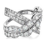 Hearts On Fire Lorelei Diamond Cross Over Ring