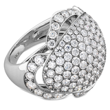 Hearts On Fire Lorelei Diamond Dome Right Hand Ring