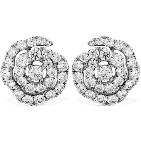 Hearts On Fire Lorelei Diamond Floral Diamond Earrings