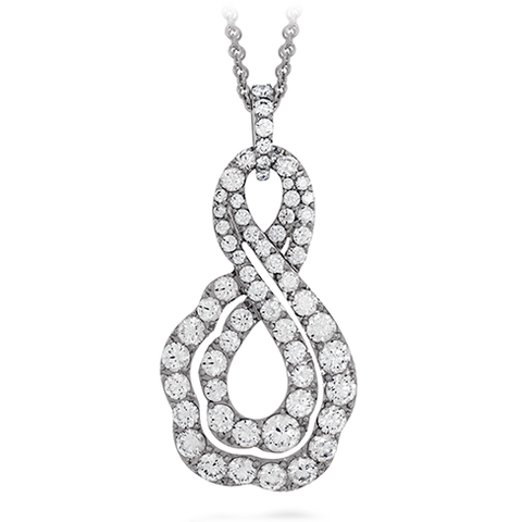 Hearts On Fire Lorelei Diamond Infinity Pendant