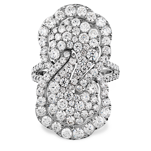 Hearts On Fire Lorelei Diamond Infinity Right Hand Ring