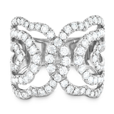 Hearts On Fire Lorelei Diamond Interlocking Ring