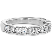 Hearts On Fire Diamond Lorelei Floral Diamond Large Band