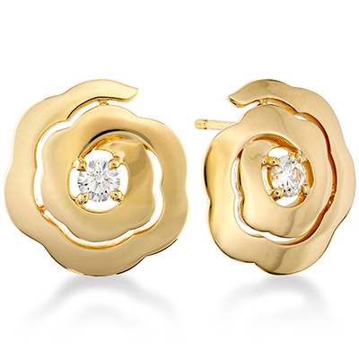 Hearts On Fire Lorelei Floral Diamond Earrings