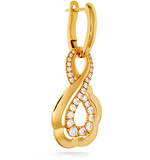 Hearts On Fire Lorelei Gold Infinity Diamond Earrings