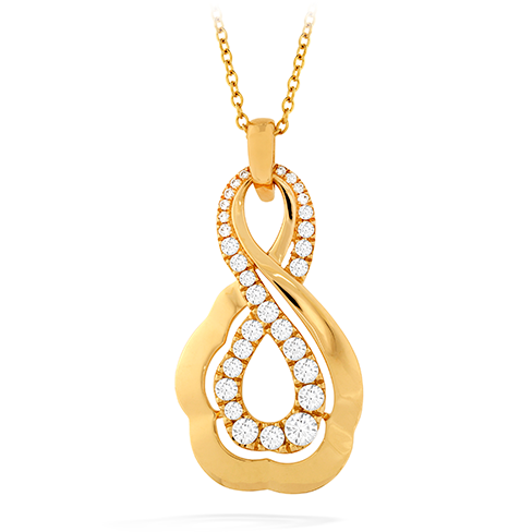 Hearts On Fire Lorelei Gold Infinity Pendant Necklace