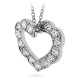 Hearts On Fire Lorelei Heart Pendant Necklace