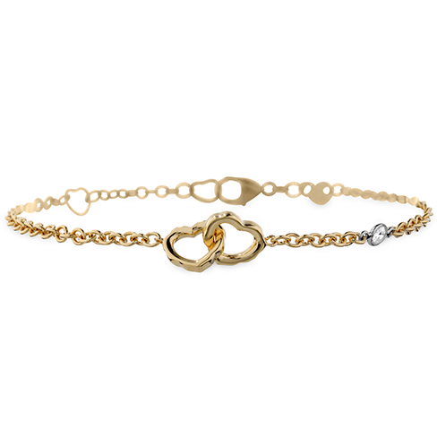 Hearts On Fire Lorelei Interlocking Heart Bracelet