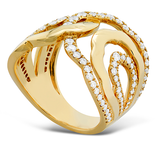 Hearts On Fire Lorelei Interlocking Diamond Ring