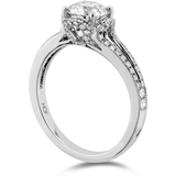 Hearts On Fire Lorelei Split Shank Diamond Engagement Ring