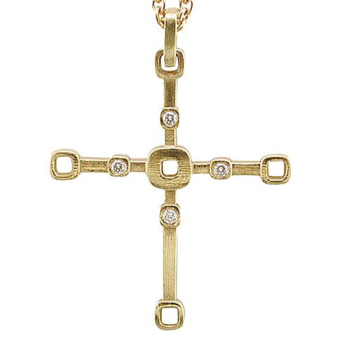 Alex Sepkus Cross Pendant Necklace - M-17