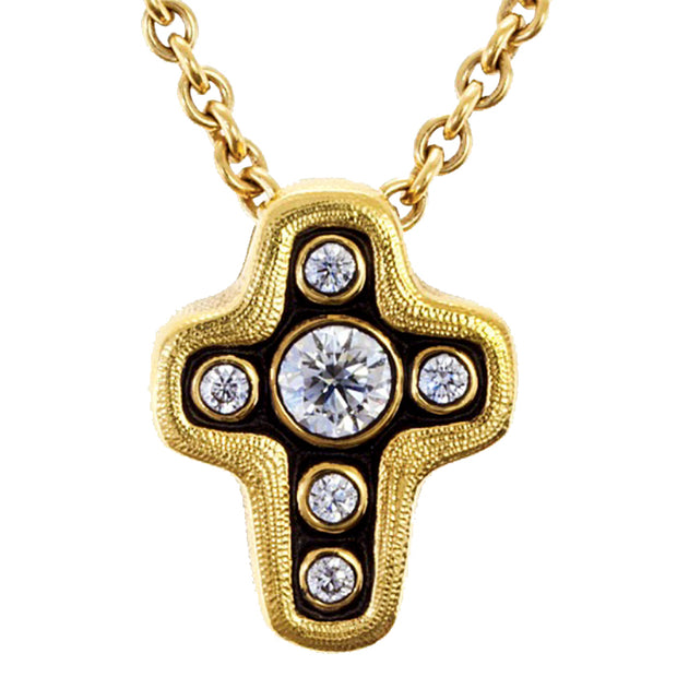Alex Sepkus Cross Pendant Necklace - M-18D15