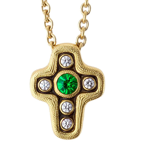Alex Sepkus Cross Pendant Necklace - M-18S
