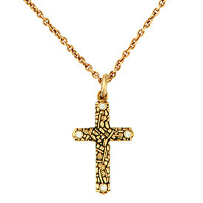Alex Sepkus Cross Pendant Necklace - M-1D