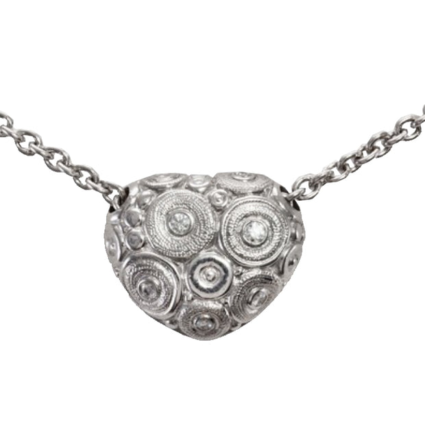 Alex Sepkus Heart Shaped Pendant Necklace - M-22P15P