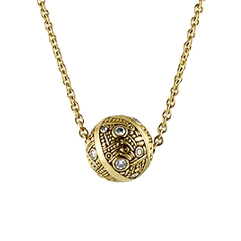 Alex Sepkus Stripe Ball Pendant Necklace - M-30D