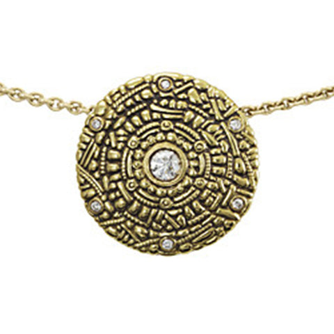 Alex Sepkus Shield Pendant Necklace - M-45