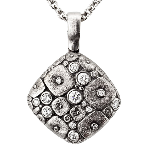 Alex Sepkus Soft Mosiac Pendant Necklace - M-46PD