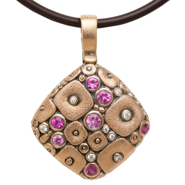 Alex Sepkus Soft Mosaic Pendant Necklace - M-46RS