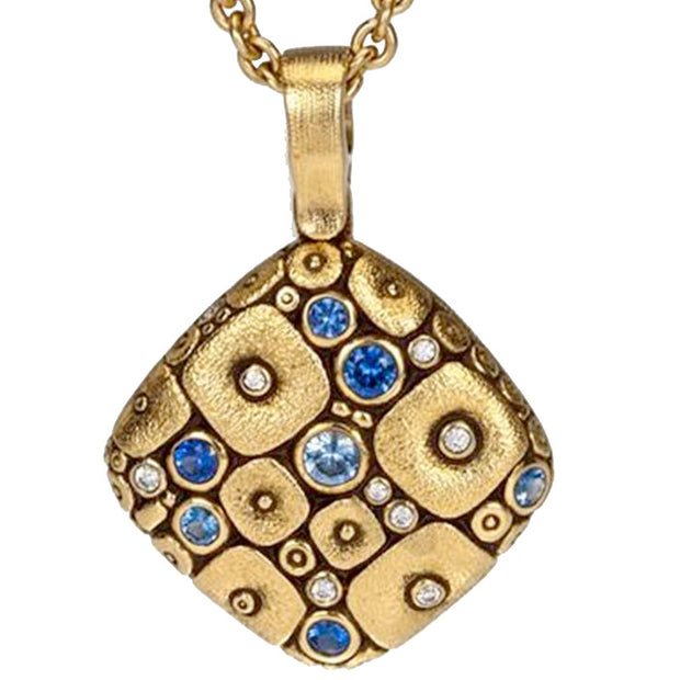Alex Sepkus Soft Mosaic Pendant Necklace - M-46SB