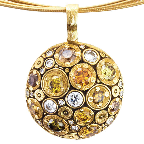 Alex Sepkus Blooming Hill Pendant Necklace - M-49DC