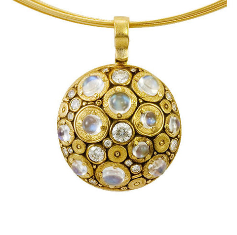 Alex Sepkus Blooming Hill Pendant Necklace - M-49MOON