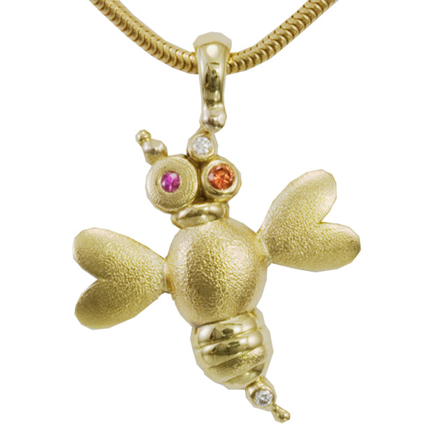 Alex Sepkus Entomology Pendant Necklace - M-52S