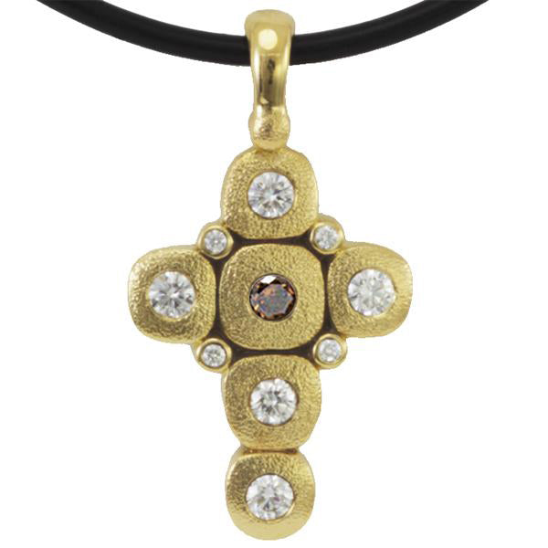 Alex Sepkus Candy Cross Pendant Necklace - M-55DC