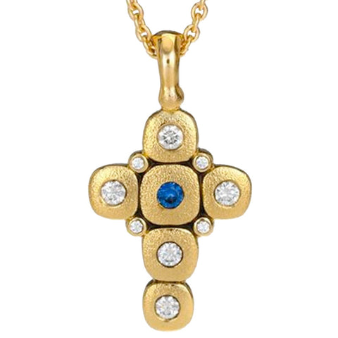 Copy of Alex Sepkus Candy Cross Pendant Necklace - M-55SB