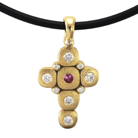 Alex Sepkus Candy Cross Pendant Necklace - M-55S