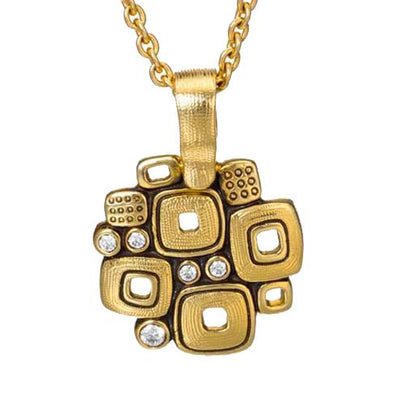 Alex Sepkus Little Windows Pendant Necklace - M-59