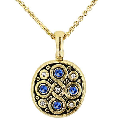 Alex Sepkus Celtic Spring Pendant Necklace - M-73S