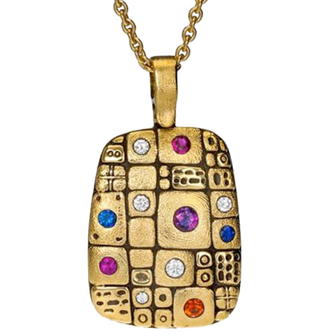 Alex Sepkus Pathway Pendant Necklace - M-74SBP