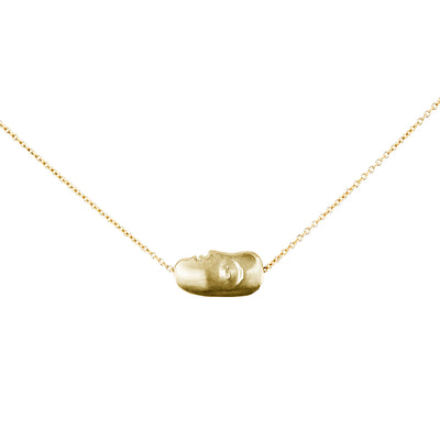 Alex Sepkus Big Sleep Face Necklace - M-910.9