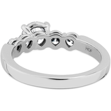 Hearts On Fire Multiplicity Love Five Stone Engagement Ring