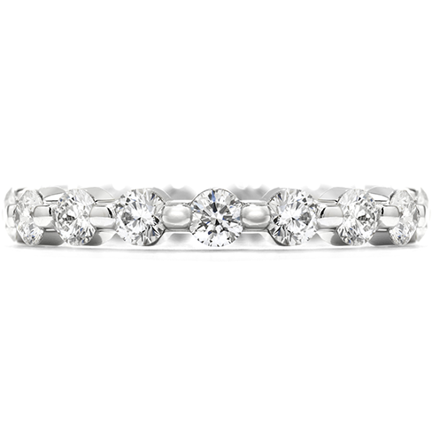 Hearts On Fire Multiplicity Single Prong Eternity Band