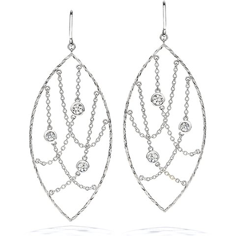 Hearts On Fire Obsession Marquee Drop Diamond Earrings