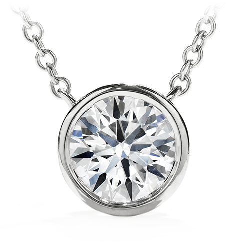 Hearts On Fire Obsession Solitaire Pendant Necklace