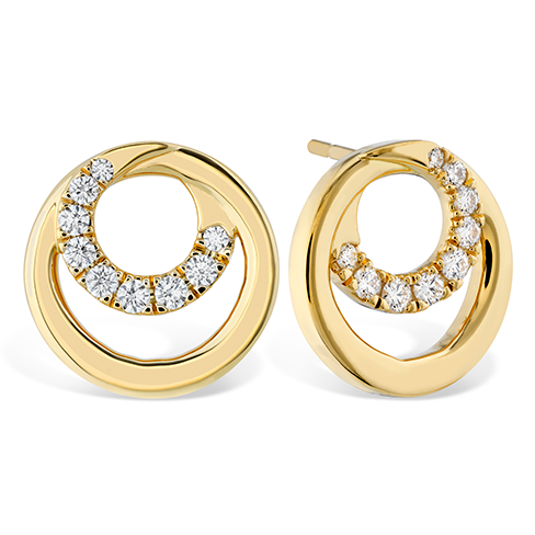 Hearts On Fire Optima Diamond Circle Earrings