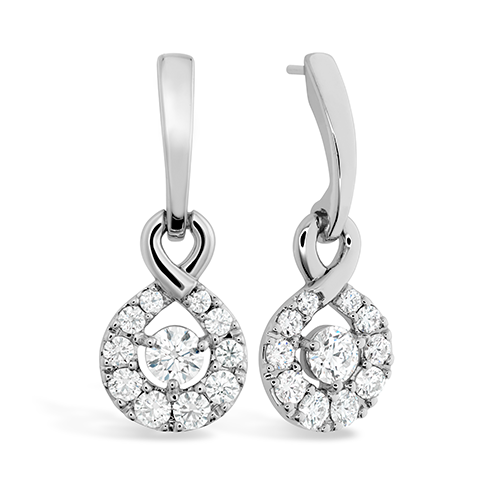 Hearts On Fire Optima Diamond Drop Earrings