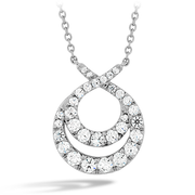 Hearts On Fire Optima Double Circle Diamond Necklace