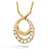 Hearts On Fire Optima Double Circle Necklace