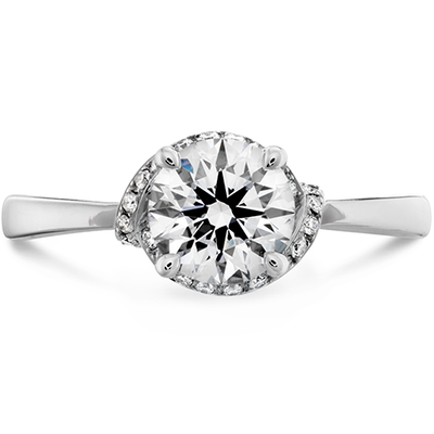 Hearts On Fire Optima Diamond Engagement Ring