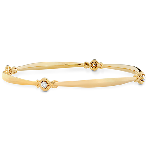 Hearts On Fire Optima Four Station Diamond Bangle