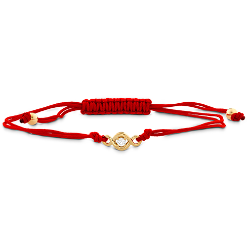 Hearts On Fire Optima Single Diamond Cord Bracelet