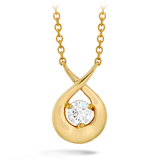 Hearts On Fire Optima Single Diamond Pendant Necklace