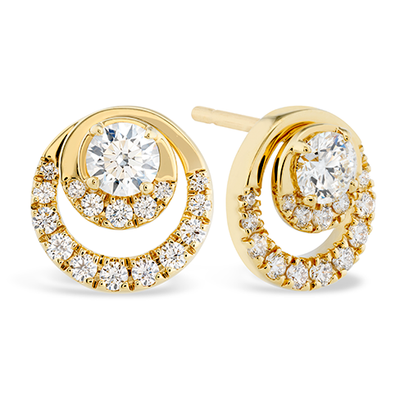 Hearts On Fire Optima Diamond Stud Earrings